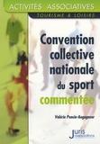 Valérie Poncin-Augagneur - Sport - Convention collective nationale (commentée).