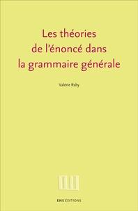 Les théories de lénoncé dans la grammaire générale.pdf