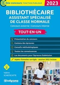 Valérie Schietecatte - Bibliothécaire assistant spécialisé classe normale - Concours externe / Concours interne.