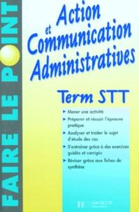 Valérie Schneider et Laura Torres - Action  et communication administratives, term. STT.