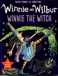 Valerie Thomas et Korky Paul - Winnie and Wilbur  : Winnie the Witch. 1 CD audio