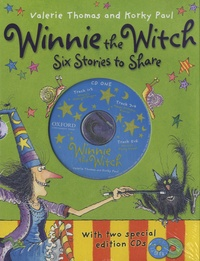 Valerie Thomas et Korky Paul - Winnie the Witch - Six Stories to Share. 2 CD audio