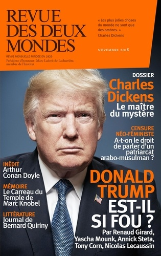 Revue des deux Mondes Novembre 2018 Charles dickens