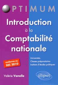 Valérie Vanelle - Introduction à la comptabilité nationale.