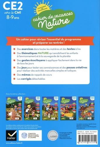 Cahier de vacances nature du CE2 au CM1. Toutes les matières  Edition 2020