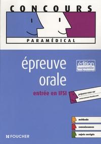 Valérie Villemagne et Anne-Laure Moignau - Epreuve orale entrée en IFSI.
