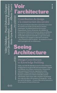 Valéry Didelon et Pascal Dubourg Glatigny - Voir l'architecture - Contribution du design à la construction des savoirs.