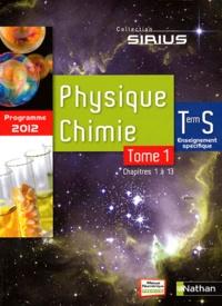 Valéry Prévost et Bernard Richoux - Physique-Chimie Tle S enseignement spécifique - 2 volumes.