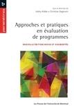 Valéry Ridde et Christian Dagenais - Approches et pratiques en évaluation de programmes.