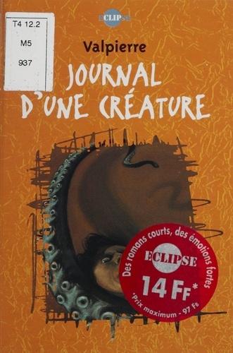 Journal d'une créature