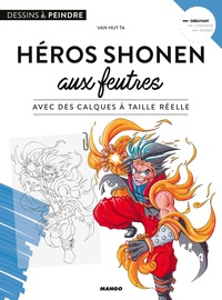 Van Huy Ta - Héros shonen aux feutres - Avec des calques à taille réelle.