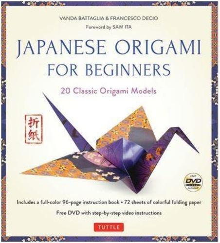 Vanda Battaglia et Francesco Decio - Japanese origami for beginners kit.