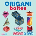 Vanda Battaglia et Riccardo Colletto - Origami boîtes.