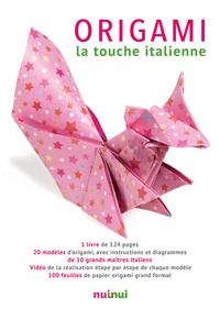 Vanda Battaglia et Riccardo Colletto - Origami, la touche italienne - Avec 100 feuilles de papier origami grand format.