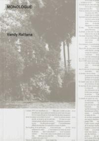 Vandy Rattana - Monologue - Edition bilingue français-khmer.