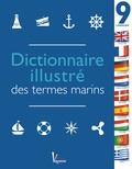 Vanessa Bird - Dictionnaire illustré des termes marins en 9 langues - La référence pour les sorties en mer autour du monde.