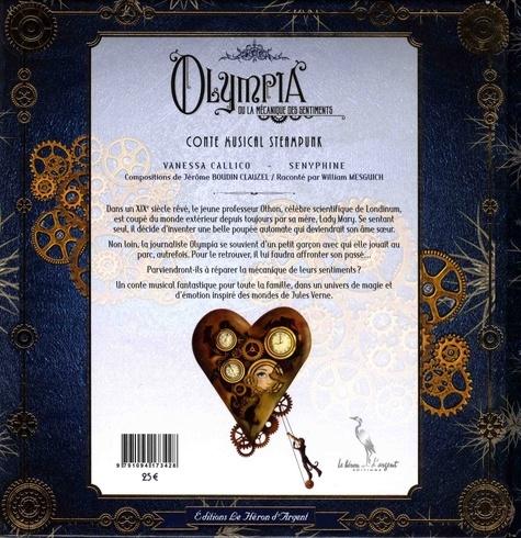 Olympia ou la mécanique des sentiments  avec 1 CD audio