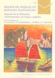 Vanessa Guignery - Récits de voyages et romans voyageurs - Aspects de la littérature contemporaine de langue anglaise.