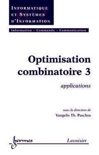 Alixetmika.fr Optimisation combinatoire - Tome 3, Applications Image