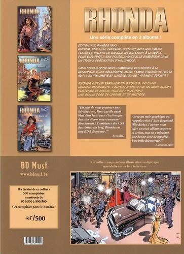 Rhonda Intégrale Coffret en 3 volumes : Tome 1, Helpe me, Rhonda ; Tome 2, Rebecca ; Tome 3, Route 66