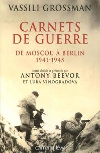 Accentsonline.fr Carnets de guerre - De Moscou à Berlin 1941-1945 Image