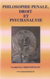Vassiliki-Piyi Christopoulou - Philosophie pénale, droit et psychanalyse.