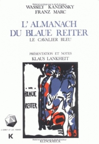 Vassily Kandinsky - L'almanach du Blaue Reiter.