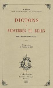 Vastin Lespy - Dictons et proverbes du Béarn.