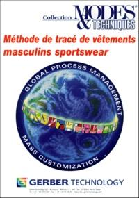 Vauclair - Méthode de tracé de vêtements masculins sportswear - Tome 2.