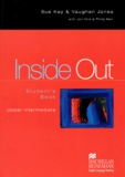 Vaughan Jones et Sue Kay - Inside Out upper intermediate  Student's book.