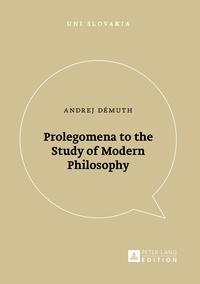 Veda - Prolegomena to the Study of Modern Philosophy.