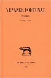 Venance Fortunat - Poèmes - Tome 2, Livres 5-8.