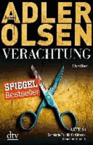 Verachtung - Der vierte Fall für Carl Morck, Sonderdezernat Q Thriller.