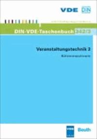 Veranstaltungstechnik 3 - Bühnenmaschinerie.
