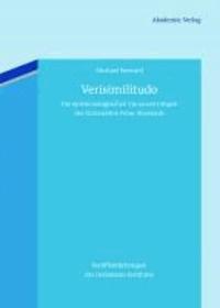 Verisimilitudo - Die epistemologischen Voraussetzungen der Gotteslehre Peter Abaelards.