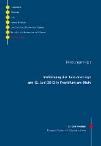 Verleihung der Toleranzringe am 12. Juni 2012 in Frankfurt am Main.