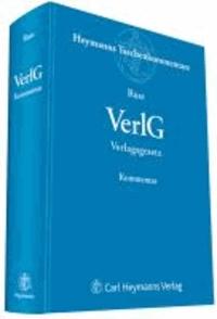 VerlG Gesetz über das Verlagsrecht.