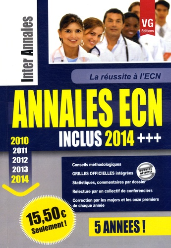 Vernazobres-Grego - Annales ECN 2010-2014 - Les annales des 5 dernières ECN.