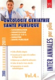 Vernazobres-Grego - Oncologie gériatrie santé publique - 2000-2011.