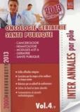 Vernazobres-Grego - Oncologie gériatrie santé publique - 2000-2013.