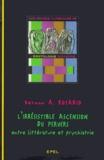 Vernon-A Rosario - L'Irresistible ascension du pervers - Entre littérature et psychiatrie.