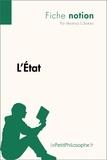 Veronica Cibotaru - L'état (fiche notion) - Comprendre la philosophie.