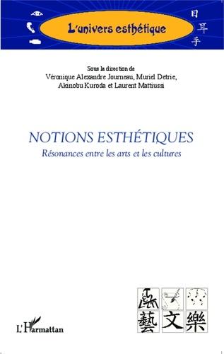 Véronique Alexandre Journeau - Notions esthétiques - Résonances entre les arts et les cultures.
