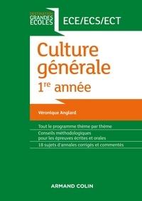 Véronique Anglard - Culture générale 1re année.