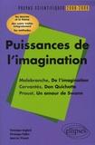 Véronique Anglard et Véronique Fabbri - Puissances de l'imagination Malebranche-Cervantès-Proust - L'épreuve de français Conseils pratiques/Corrigés.