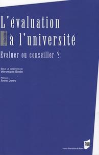 Véronique Bedin - L'évaluation à l'université - Evaluer ou conseiller ?.