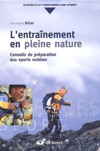 Véronique Billat - L'entraînement en pleine nature - Conseils de préparation aux sports outdoor.