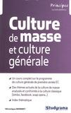 Véronique Bonnet - Culture de masse et culture générale.