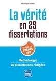 Véronique Bonnet - La vérité en 25 dissertations.