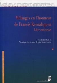 Véronique Bouchard et Brigitte Feuillet-Liger - Mélanges en l'honneur de Francis Kernaleguen - Liber amicorum.